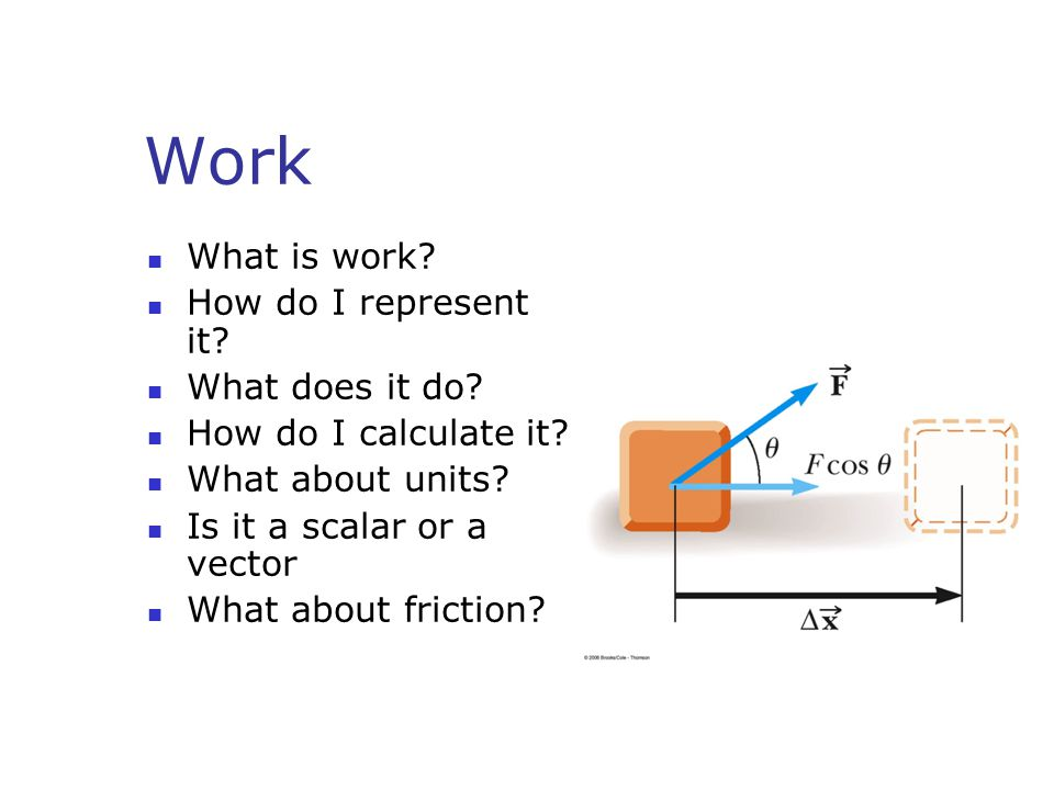 Work and Potential Energy What is the relationship between work and potential energy.