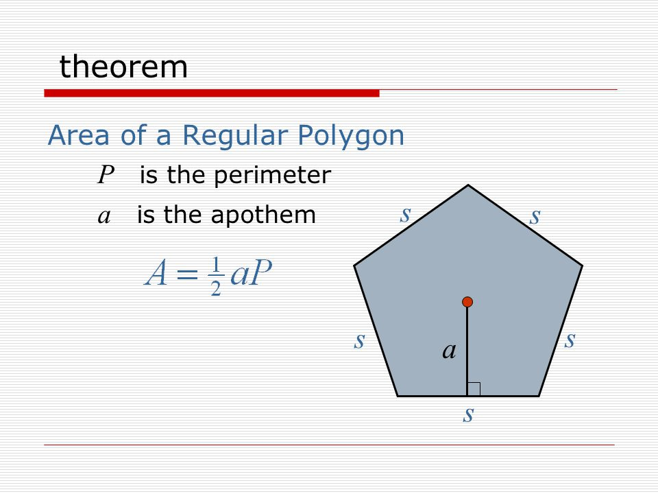 definition The Measure of a Central Angle of a Regular Polygon 72 o