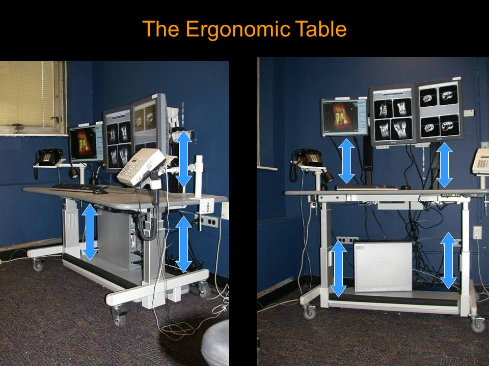 The Ergonomic Table