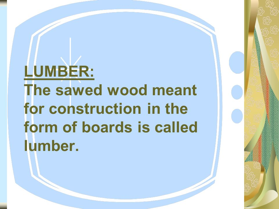 14 Types of Timber Seasoning: The main types of timber seasoning are as under.