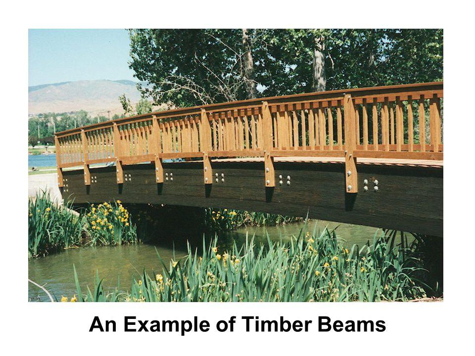 An Example of Timber Beams
