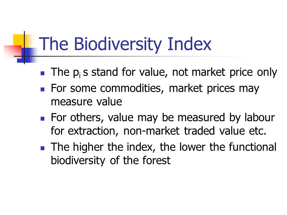 The Model The Gordon Schaeffer model is the starting point for the present model A multi-species natural forest is like a pool from which valuable species are being extracted: products are ranked by value and high value products extracted first