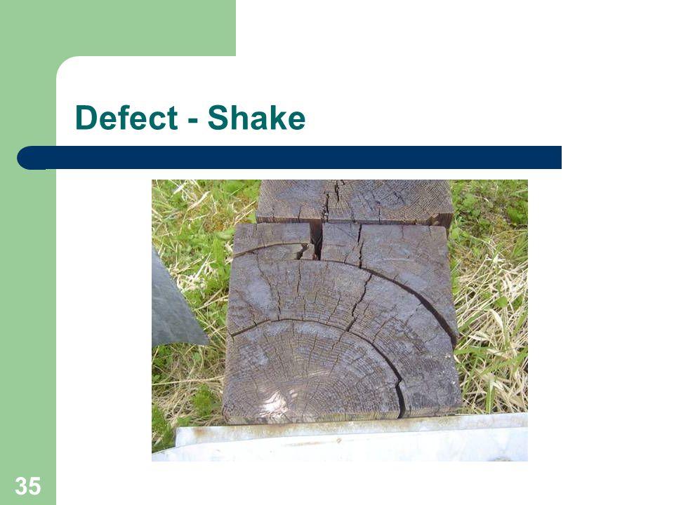 35 Defect - Shake