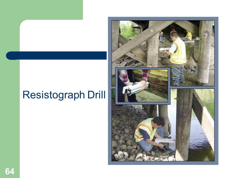 64 Resistograph Drill