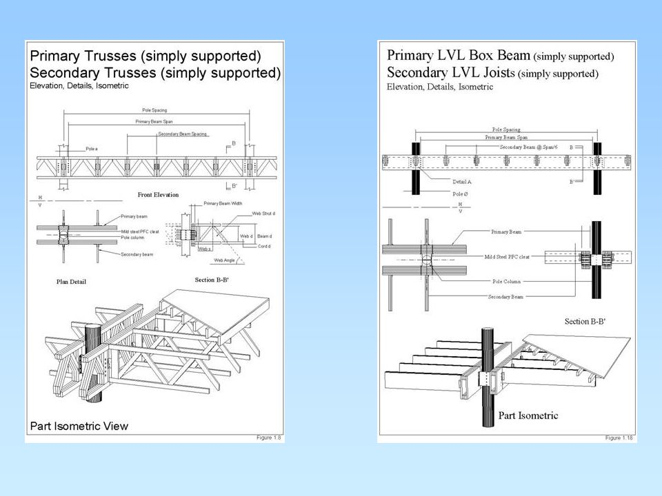 Study 3: Large Industrial Truss Structures Using Pinus Radiata Poles