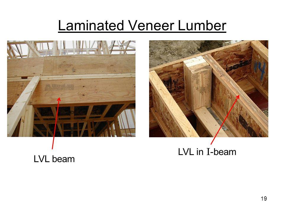 Laminated Veneer Lumber LVL beam LVL in I -beam 19