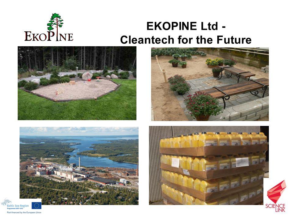 EKOPINE Ltd - Cleantech for the Future