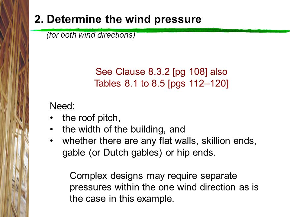 Wind direction 2 Level 3 Level 1 and Level 2 Wind direction 1