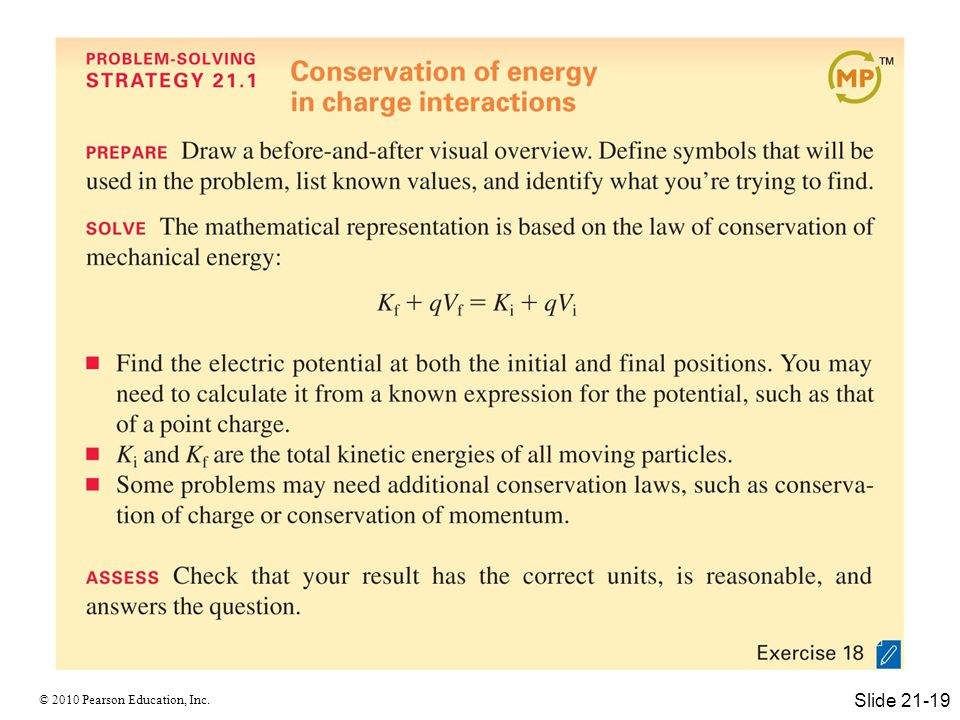 © 2010 Pearson Education, Inc. Slide 21-19