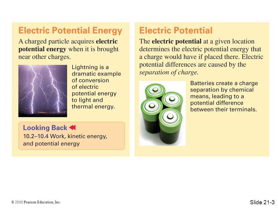 © 2010 Pearson Education, Inc. Slide 21-3