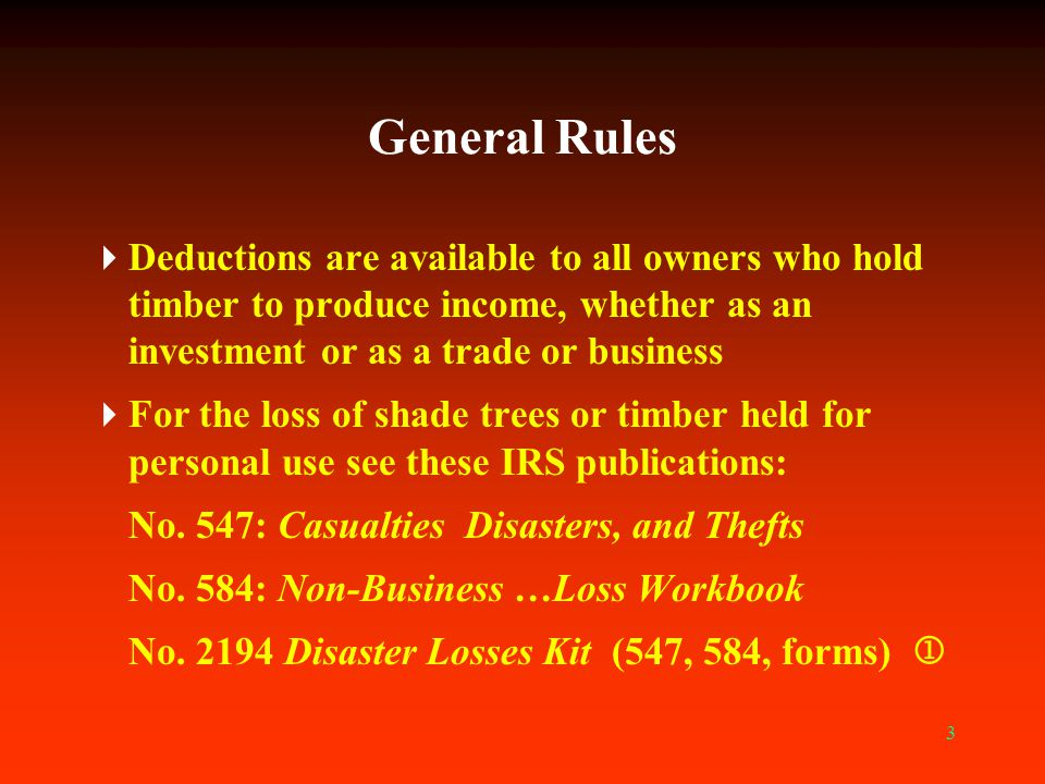 24 Noncasualty Loss Deduction  Follow the same steps as with a casualty loss  Difference is in the tax treatment: Casualty losses are deducted from ordinary income Noncasualty losses are deducted first from capital gains, a disadvantage because capital gains receive favorable tax treatment 