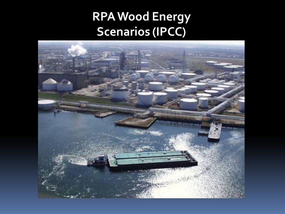 RPA Wood Energy Scenarios (IPCC)