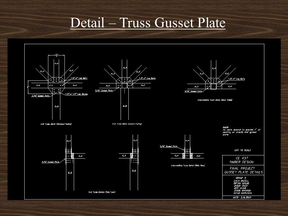 Detail – Mortise & Tenon Joint/Joist Hangars