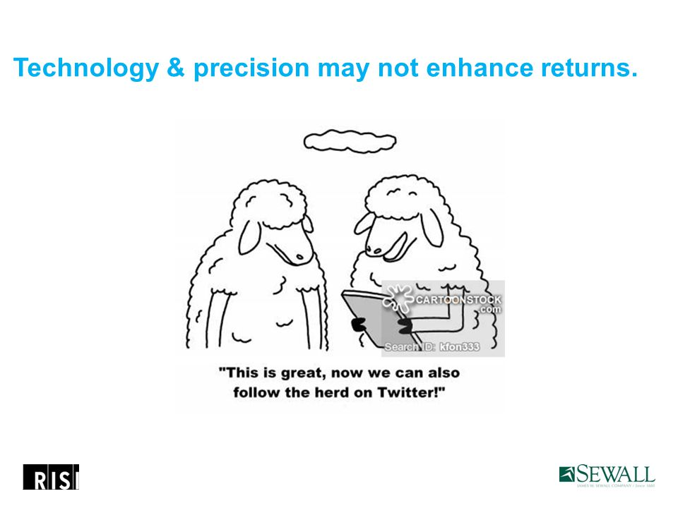 Technology & precision may not enhance returns.