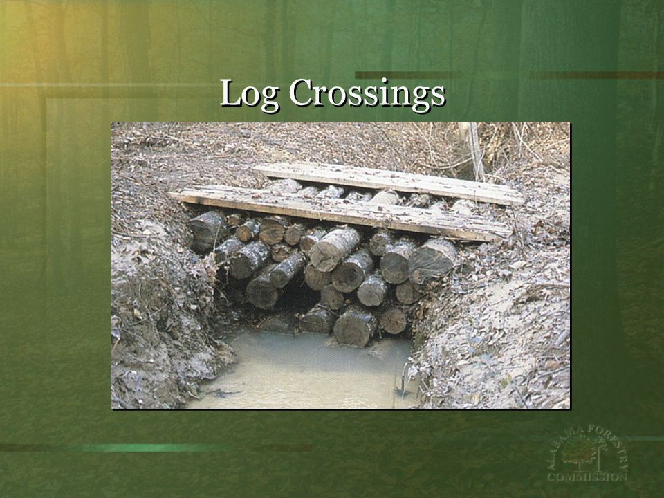 Log Crossings