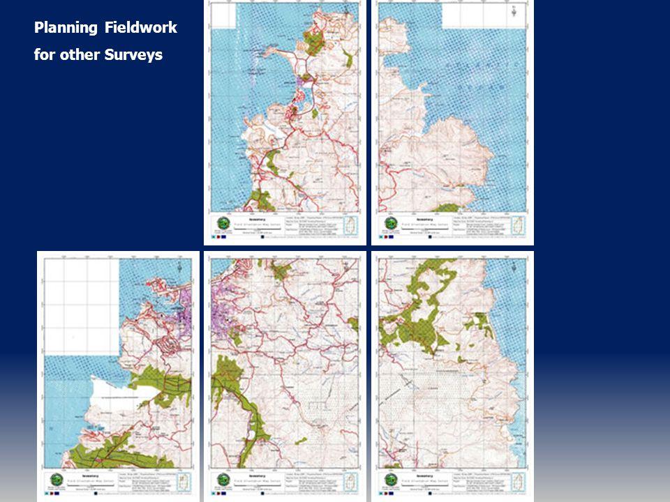 Planning Fieldwork for other Surveys