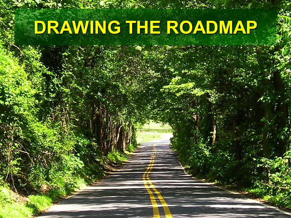 DRAWING THE ROADMAP