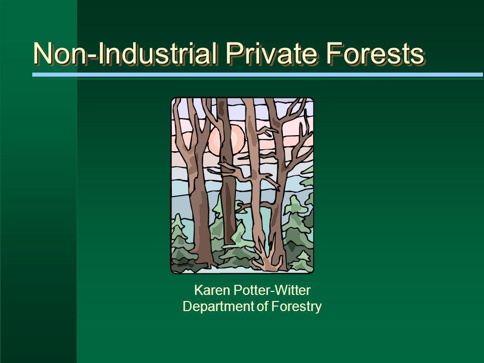 MichiganMichigan 19.2 million acres of forestland 18.6 million acres of timberland ~ ___% of Michigan?