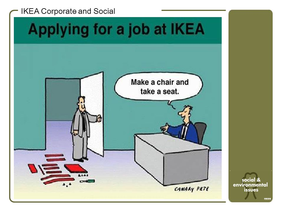 I.K.E.A.Our Vision To create a better everyday life for the many people © Inter IKEA Systems B.V.