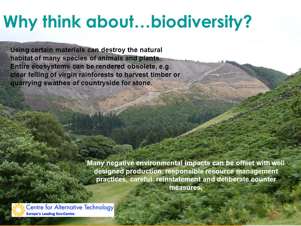 Why think about…biodiversity.