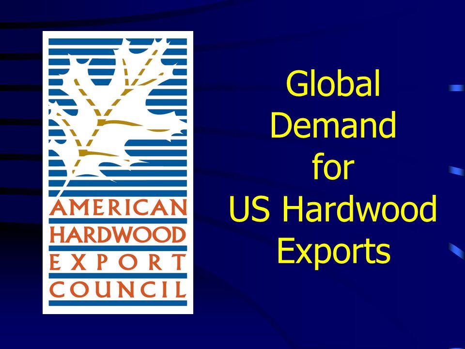 Global Demand for US Hardwood Exports