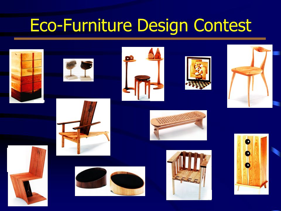 Eco-Furniture Design Contest