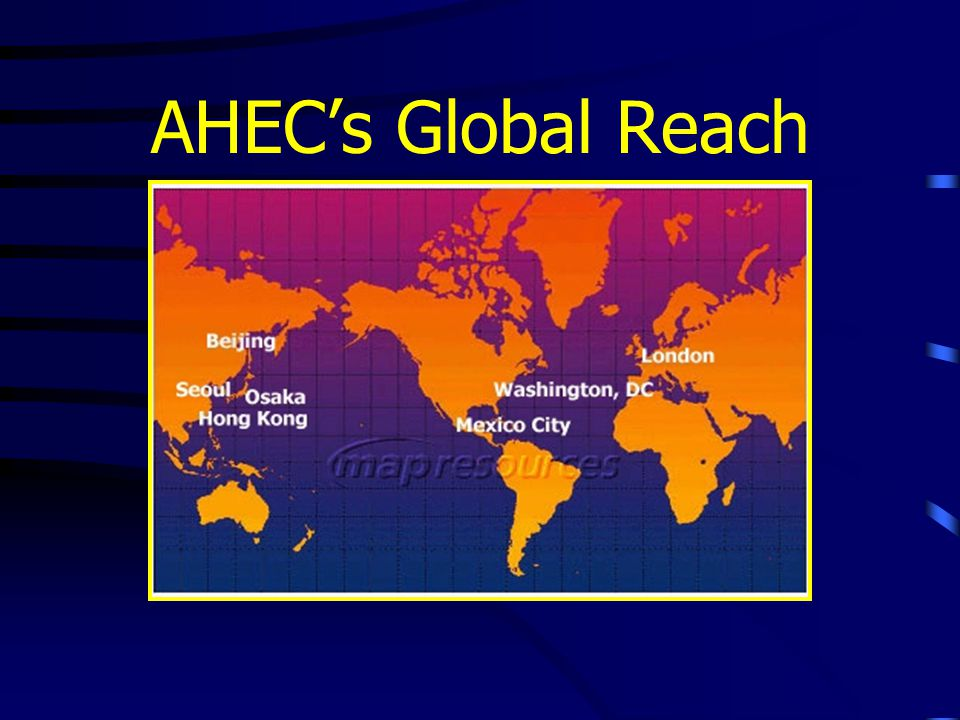 AHEC's Global Reach