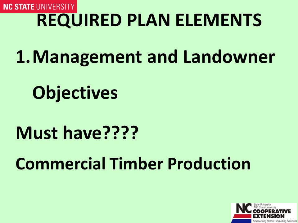 REQUIRED PLAN ELEMENTS 2. Location Map or Aerial Photograph