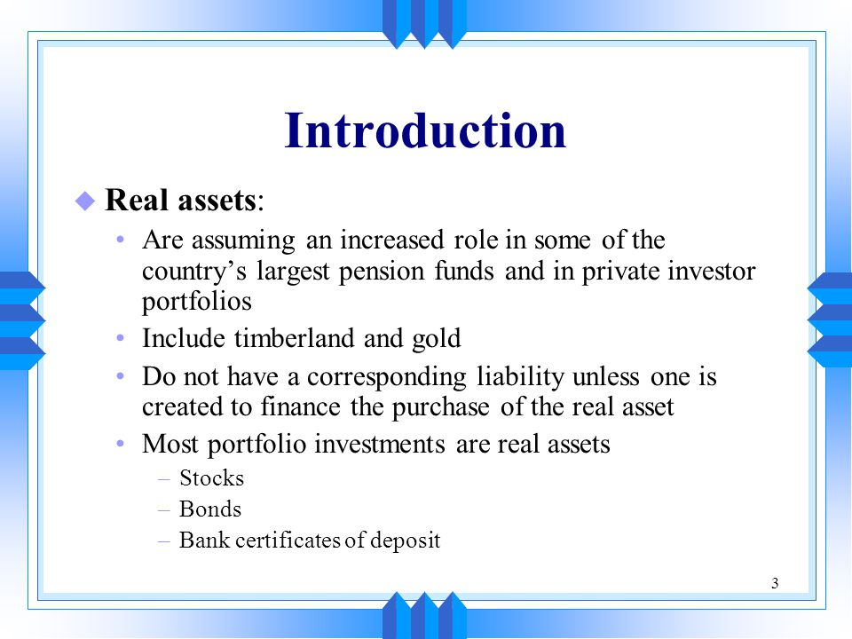 14 Timberland as a Pure Investment u Portfolio managers hold timberland as a pure investment: The property is held for its own investment merits The property is not held as part of a strategic plan or to assist in project financing