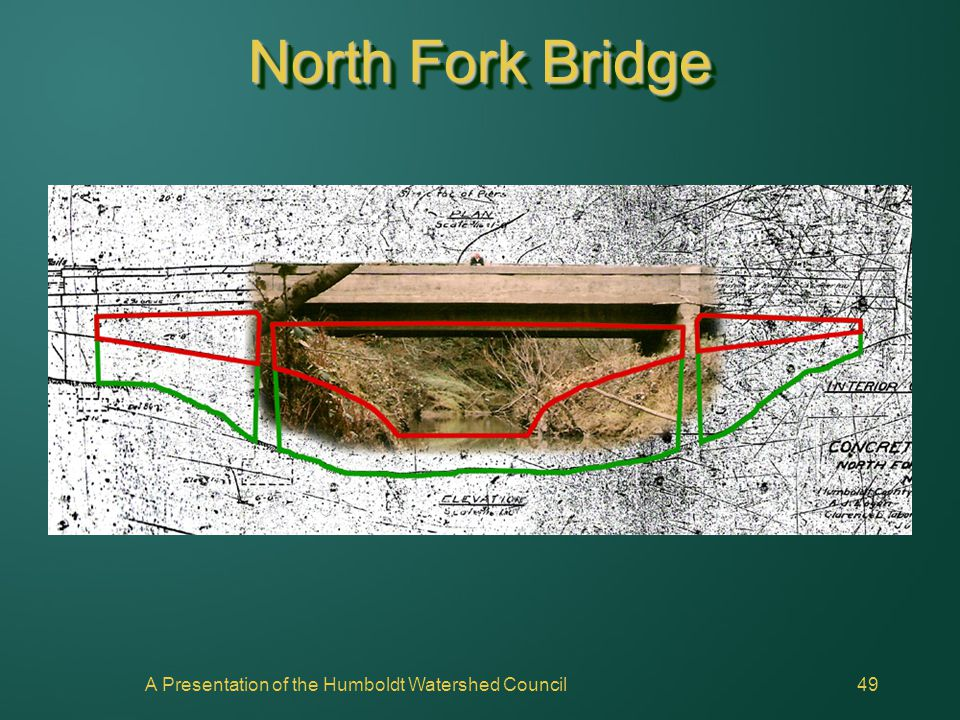 A Presentation of the Humboldt Watershed Council49 North Fork Bridge