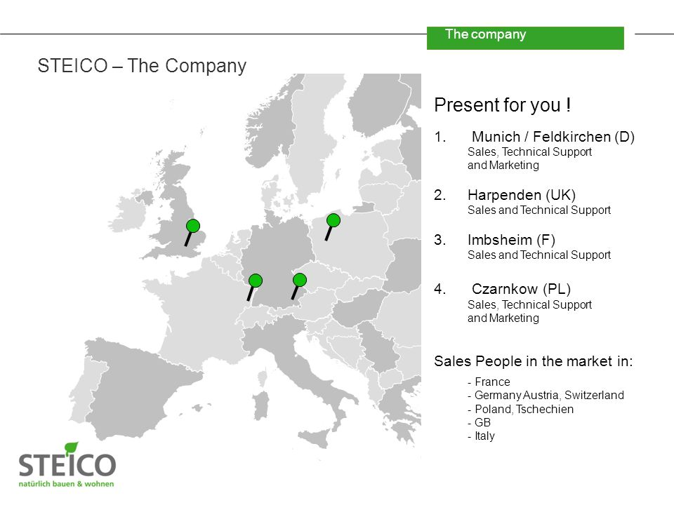 The company STEICO – The Company Present for you .