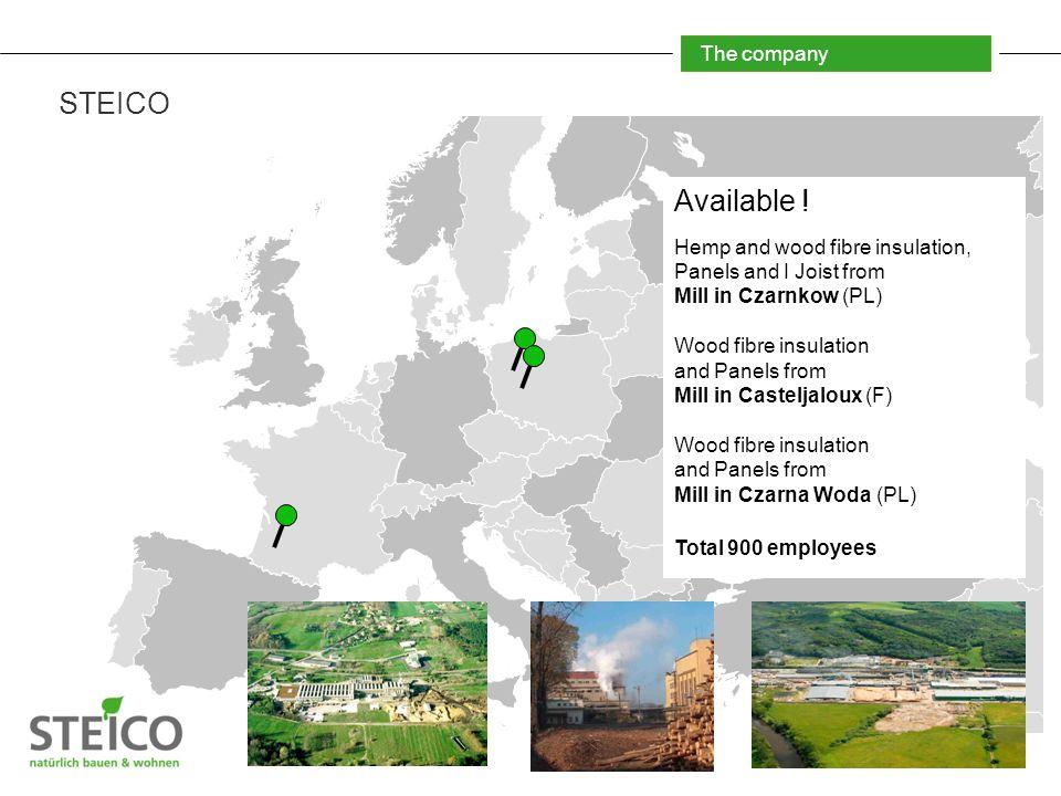 The company STEICO Available .