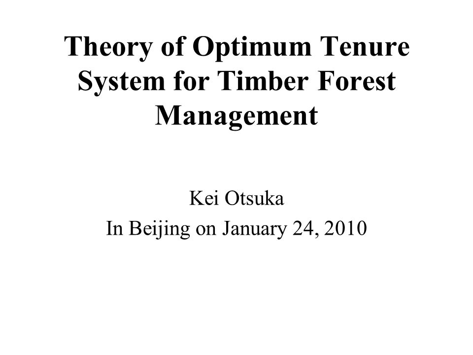Table 9.10 (continued) Centralized Management Collective Management t-Statistics a Cash flow of forest management in 1996 Total revenue (1,000 rupees)53.8(56.9)43.2(87.6)0.51 Total expenditure (1,000 rupees)26.2(23.6)13.9(9.4)2.41* Gross profit (1,000 ruees) b 27.6(43.0)29.4(84.7)0.91 Gross profit per hectare (1,000 rupees)0.29(0.65)0.12(0.34)1.32 Gross profit per user (1,000 rupees)0.17(0.34)0.07(0.18)1.38 Number of samples2428 a If the current community forest area used to be covered by forest in 1978, this land use variable is unity, and otherwise it is zero.