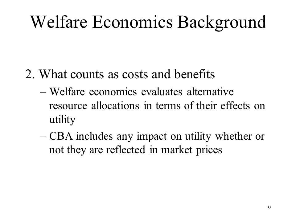 9 Welfare Economics Background 2.