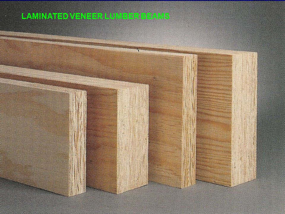 LAMINATED VENEER LUMBER BEAMS
