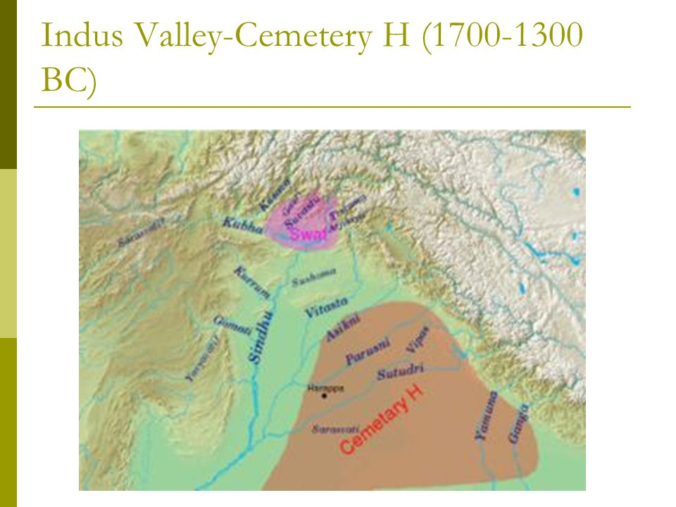 Indus Valley-Cemetery H (1700-1300 BC)