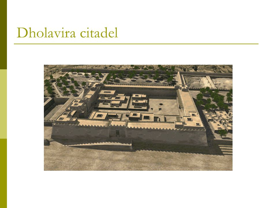 Dholavira citadel