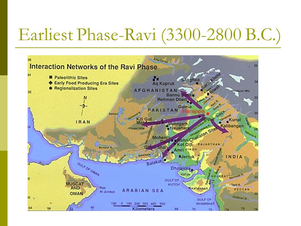 Middle Harappan-Integration Era 2600-1900 BC  By 2500 BCE, communities had been turned into cities (urban centers)  Six such urban centers have been discovered, including: Harappa, Mohenjo Daro and Dicki in Pakistan, along with Gonorreala, Dokalingam and Mangalore in India.