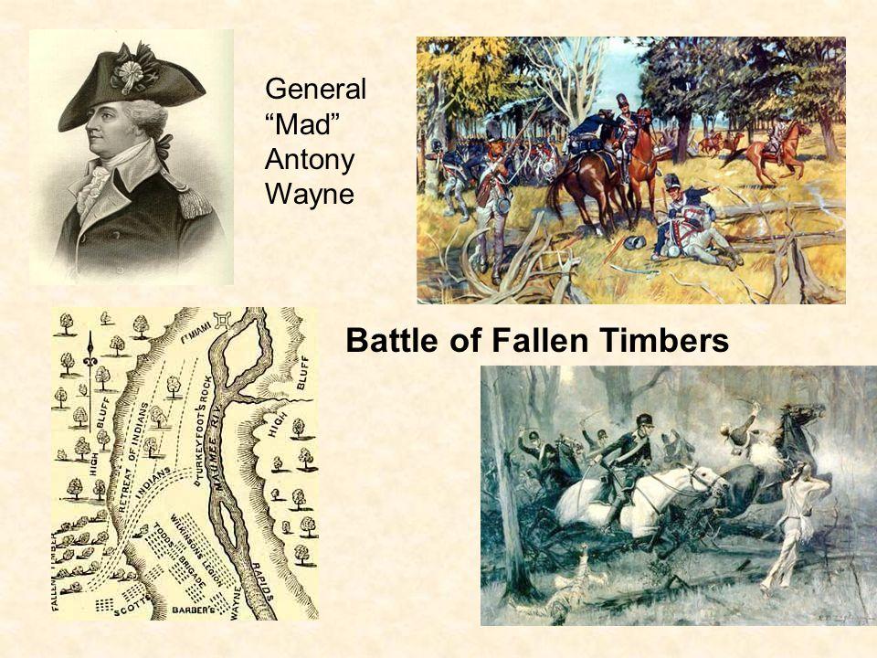 "General ""Mad"" Antony Wayne Battle of Fallen Timbers"