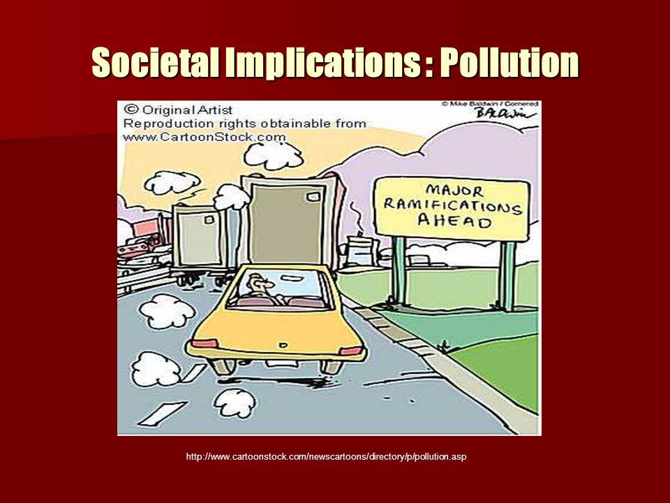 Societal Implications : Pollution http://www.cartoonstock.com/newscartoons/directory/p/pollution.asp