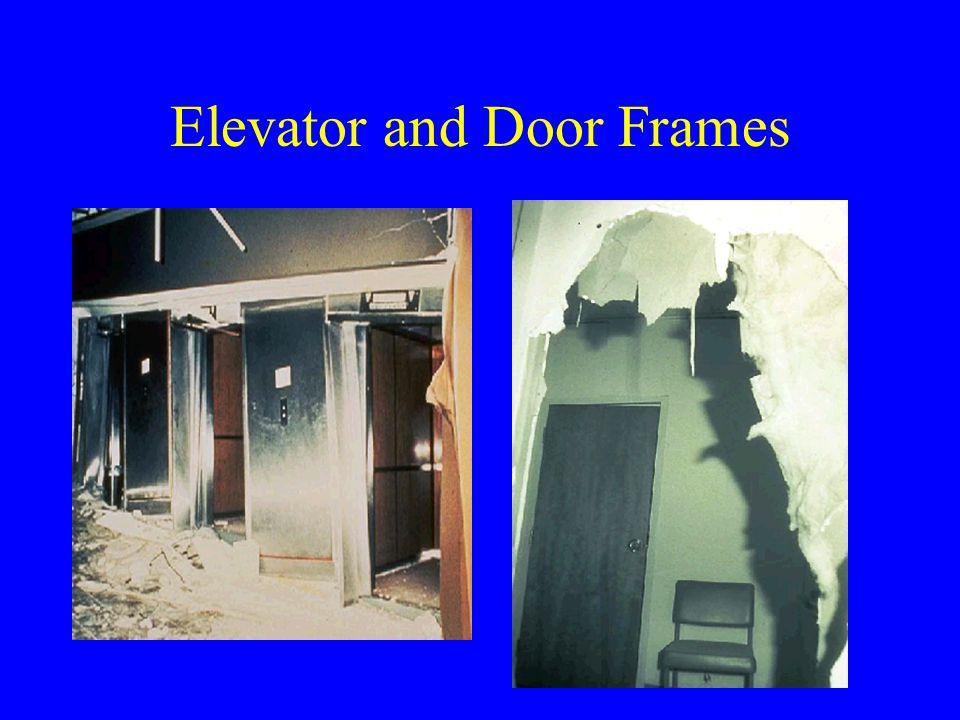 Elevator and Door Frames