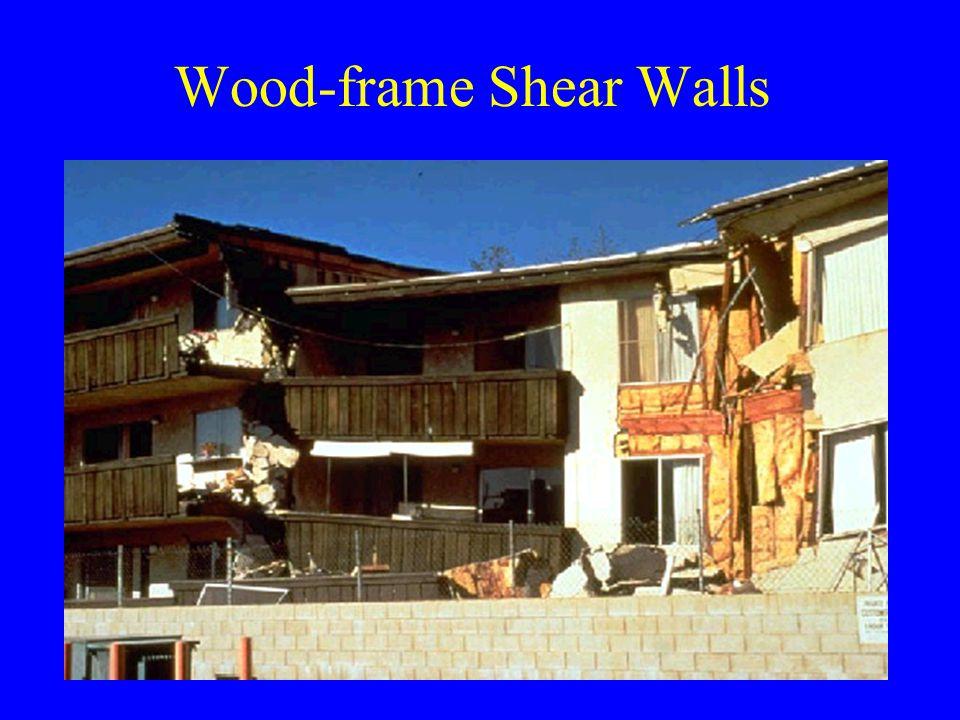 Wood-frame Shear Walls