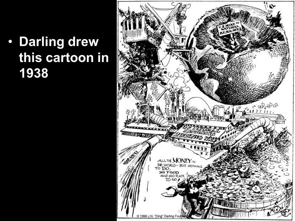 Darling drew this cartoon in 1938