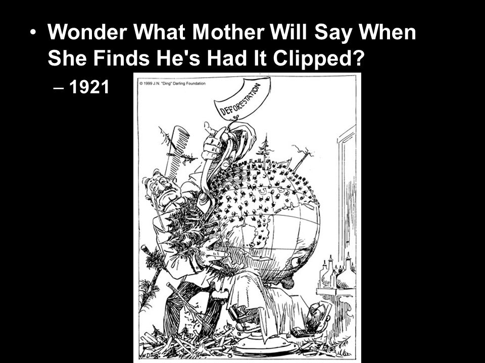 Wonder What Mother Will Say When She Finds He s Had It Clipped –1921