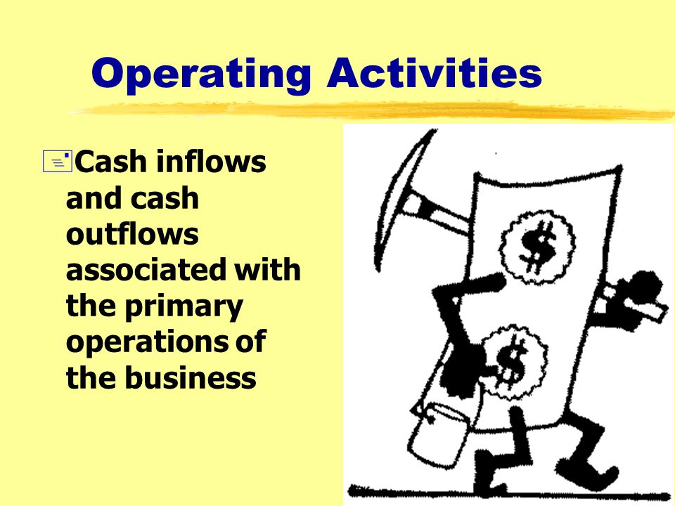 34 Using the Statement of Cash Flows +To provide information about +Cash receipts +Cash payments +Changes in cash (and cash equivalents) +From changes