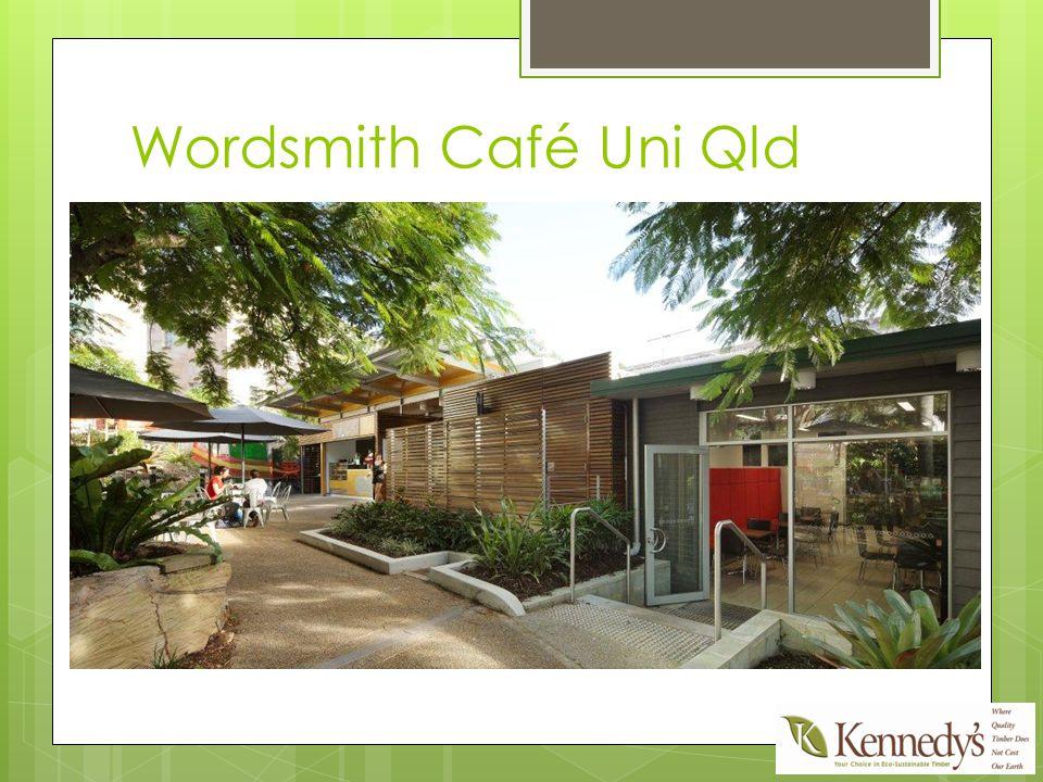 Wordsmith Café Uni Qld