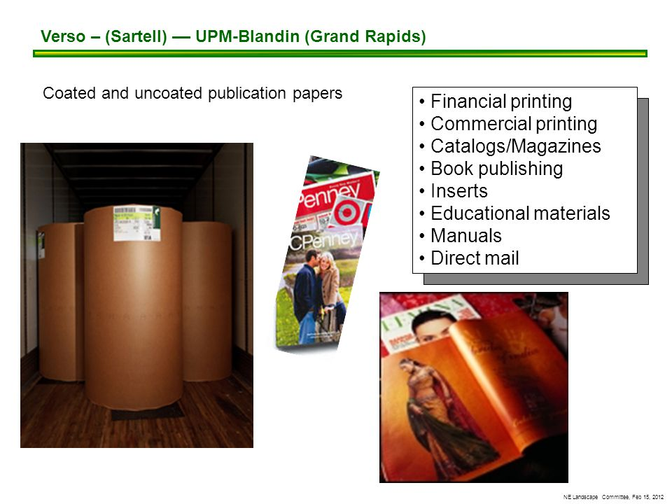 NE Landscape Committee, Feb 15, 2012 PPI-Uncoated Freesheet Paper (New Page)