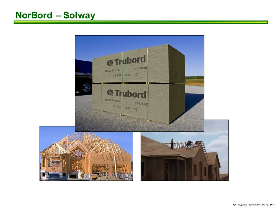 NE Landscape Committee, Feb 15, 2012 NorBord – Solway