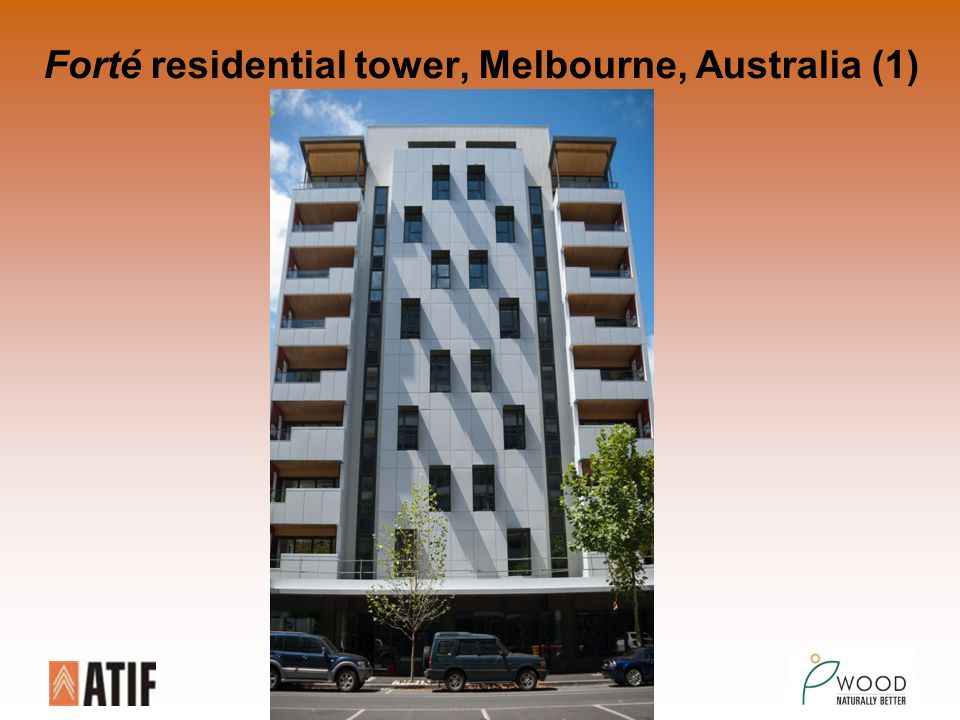 Forté residential tower, Melbourne, Australia (1)