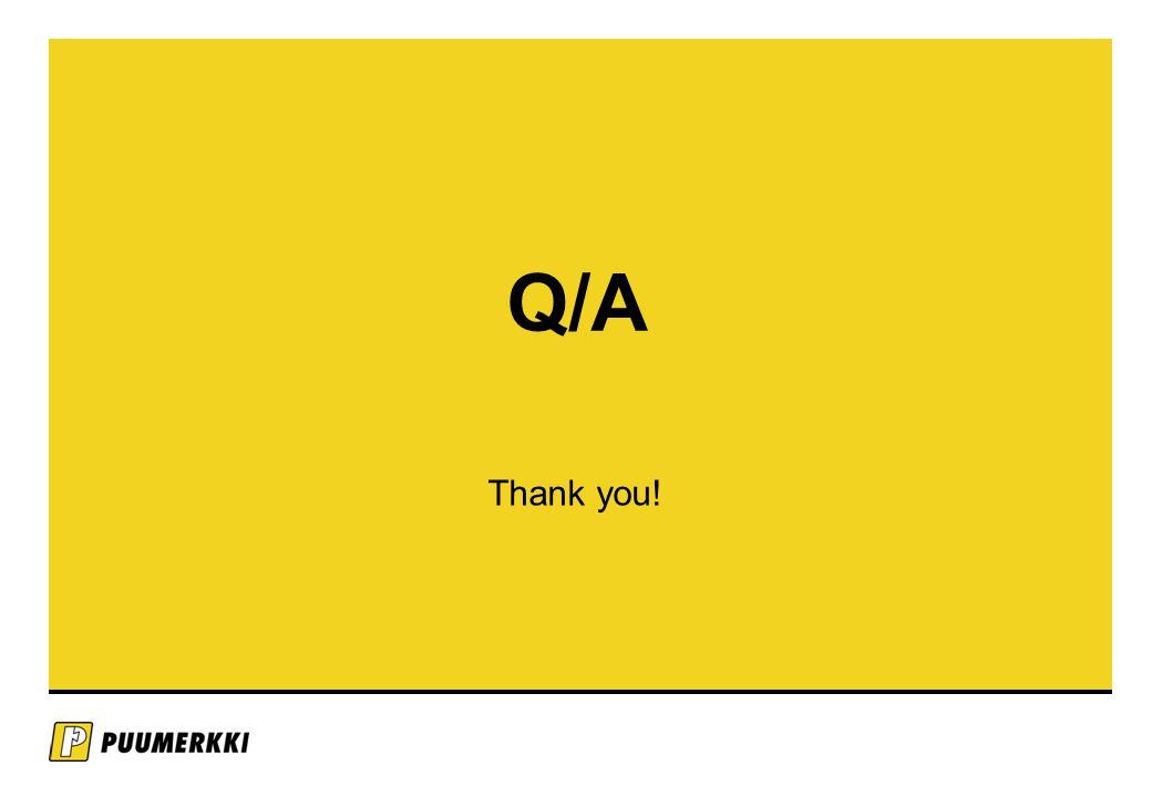 Q/A Thank you!